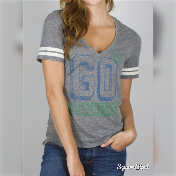 2f804c4776b7e Junk Food Clothing Tops | Nwt Nfl Seattle Seahawks Tailgate Tee By ...